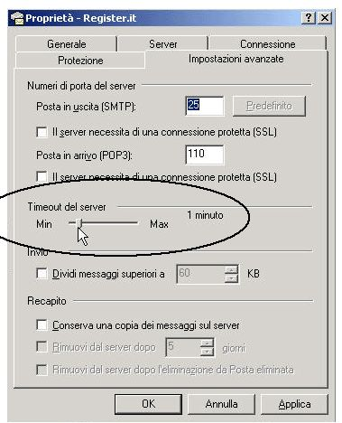 Configurazione Email Outlook Express